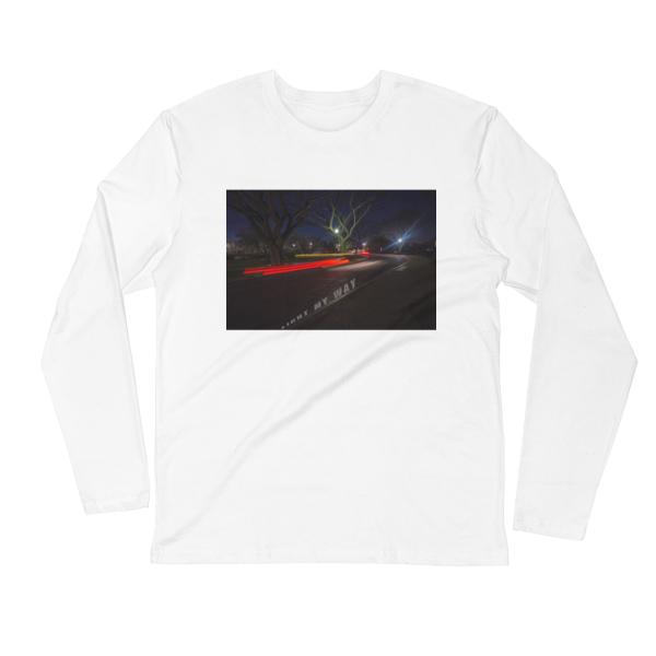 Light-My-Way-Photomusicology-Carla-Durham-unisex-long-sleeve-t-shirt-white
