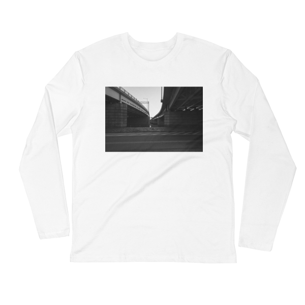 Where the Streets Have No Name by U2 - photo of Ohio Drive in Washington, DC by Carla Durham - Photomusicology - white unisex long sleeve t-shirt
